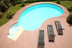 dh-system-Lame Elégance brun exotique piscine